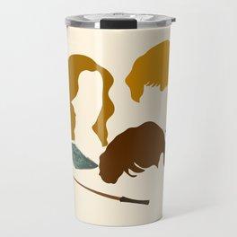 Wizard Trio Travel Mug