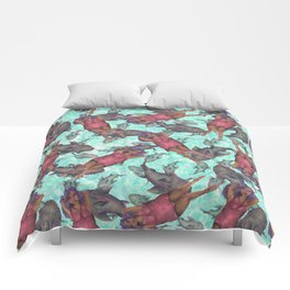 shark pattern Comforters