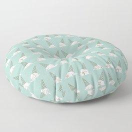 Oh my ice cream Floor Pillow