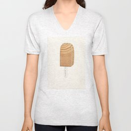 Popsicle Stand: Wood Unisex V-Neck