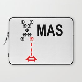X-Mas Invader Laptop Sleeve