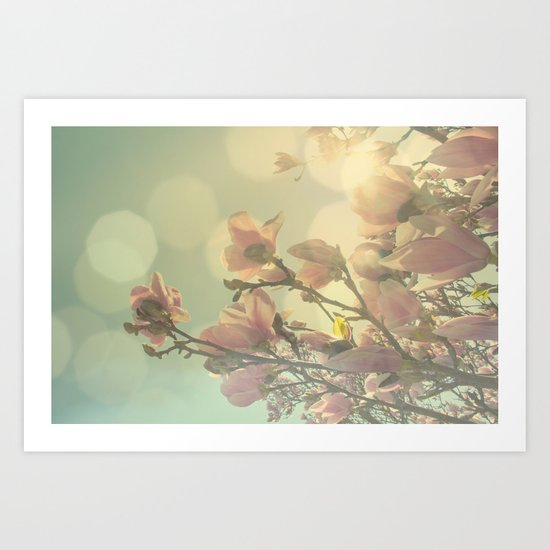 SPRING HEAVEN Art Print