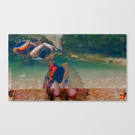 Mourning Glory Canvas Print