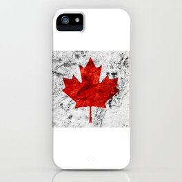 Canada Day Flag Canadian July 1st horizontal iPhone Case