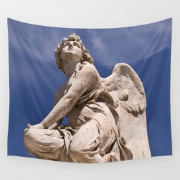 WHITE ANGEL of SICLY Wall Tapestry