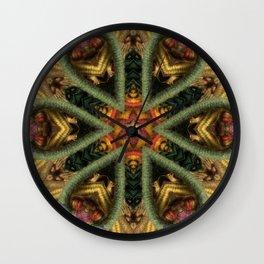 fiberworks  3 Wall Clock