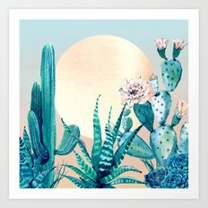 Desert Dawn Art Print