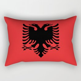 Albanian Flag - Hight Quality image Rectangular Pillow