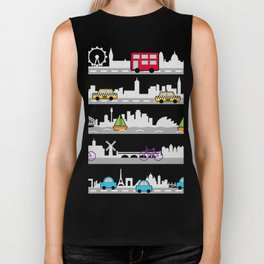 City travel Biker Tank
