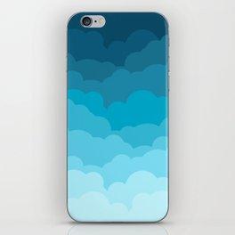 Gradient Clouds iPhone Skin