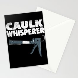Caulking Gun Caulk Master Tiler Craftsman Stationery Cards