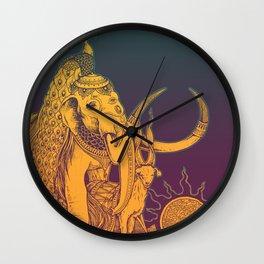 ANIMALS IN THE SUN Wall Clock