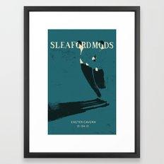 Sleaford Mods Framed Art Print
