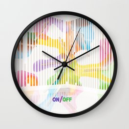 _ON/OFF Wall Clock