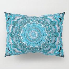 mandala-macrame 3D effect-soft colors-sweet-nursery art- hand painted Pillow Sham