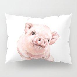 Pink Baby Pig Pillow Sham