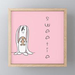 Sweetie Framed Mini Art Print