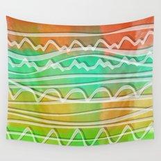 Rainbow Window Wall Tapestry