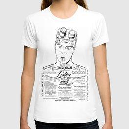 Dan Aykroyd Tattooe'd Ghostbuster Ray Stantz T-shirt