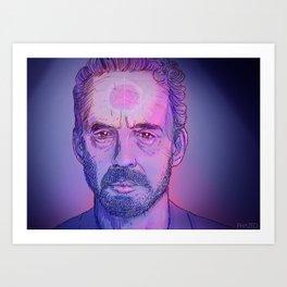 Dr Jordan B Peterson Art Print