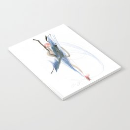 Expressive Dance Drawing Notebook