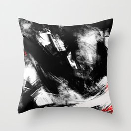 Brooklyn has fallen | Abstract Painting Throw Pillow