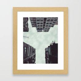 perpendicular Framed Art Print