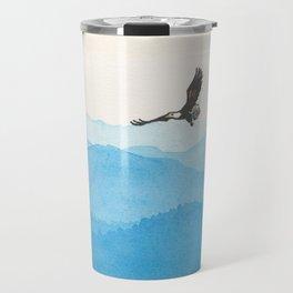 Blue Flight Travel Mug