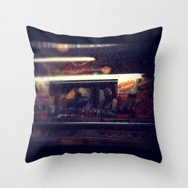 Food Cart Throw Pillow