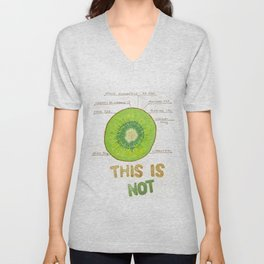 this is not Unisex V-Neck