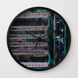 Metric Shelter Wall Clock