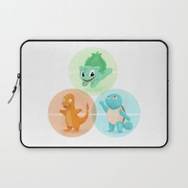 Poké: choose your starter Laptop Sleeve