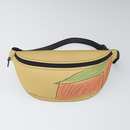 Red Barn Minimal Landscape Fanny Pack