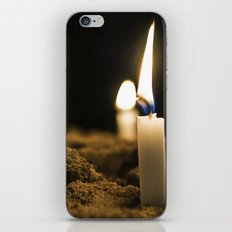Candle in the Wind iPhone & iPod Skin