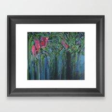 Chinampas Framed Art Print