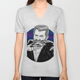 Old man Logan no.02(Hugh jackman) Unisex V-Neck