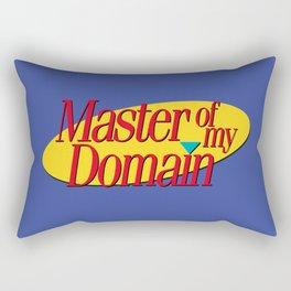 Master of my domain Rectangular Pillow
