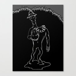 Self-Sacrifice Canvas Print