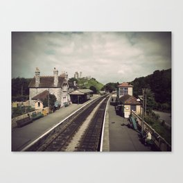 Antique Corfe Canvas Print