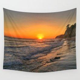 Sundown Santa Barbara Wall Tapestry