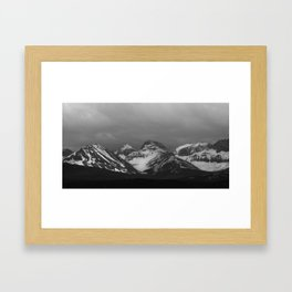 British Columbia Rocky Mountains Framed Art Print