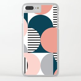 Retro style pattern 2 Clear iPhone Case