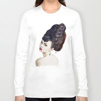 black widow Long Sleeve T-shirts featuring Black Widow by Daniac Design