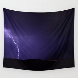 Lightning Strikes - II Wall Tapestry