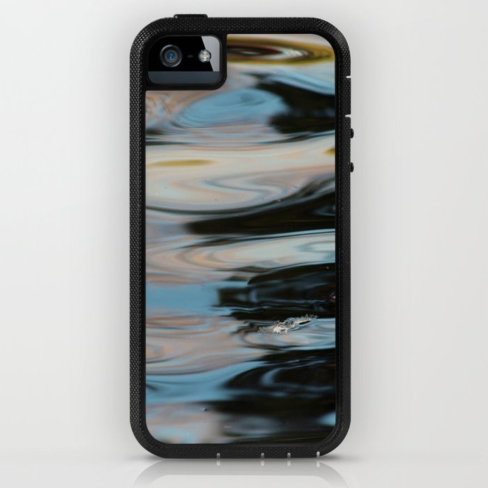 Abstract Water Surface iPhone Case