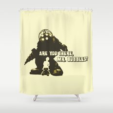 Bioshock: Are you there, Mr. bubbles? Shower Curtain