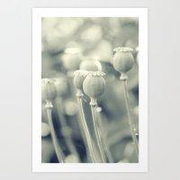 poppy Art Prints featuring Poppy by Falko Follert Art-FF77