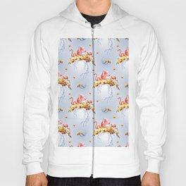 Shy Flamingo Hoody