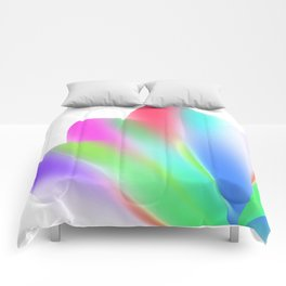 Fanned (on White) Comforters