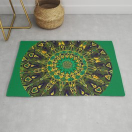 Colorful Mandala RQ Rug